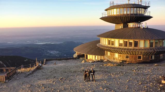 Sněžka – highest mountain in Czech Republic