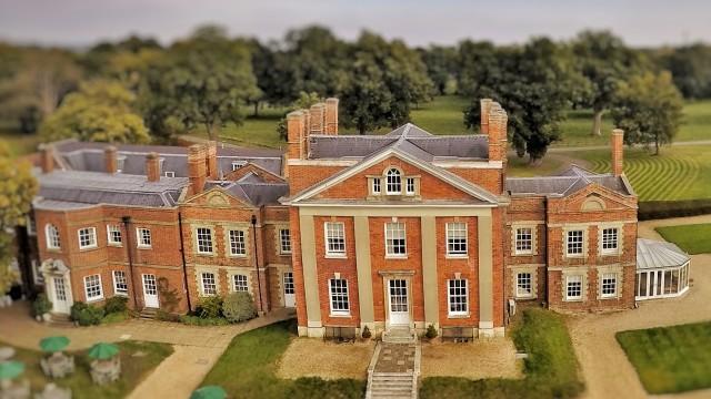 Warbrook House, Eversley, Hampshire, UK.