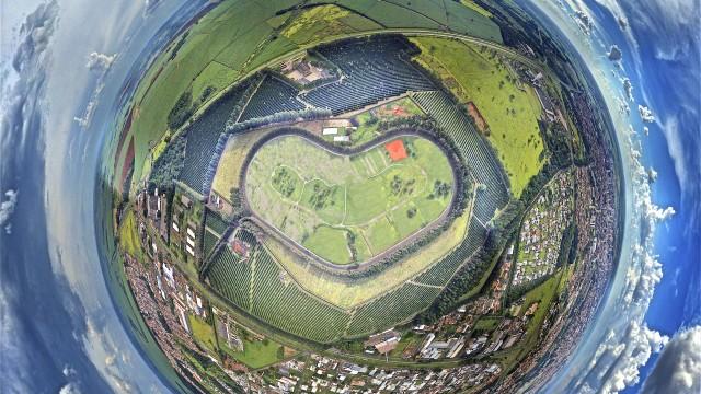 Aerial Valentine's Day