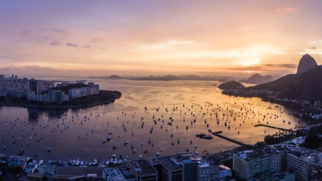 Enseada de Botafogo, Rio de Janeiro, Brazil.