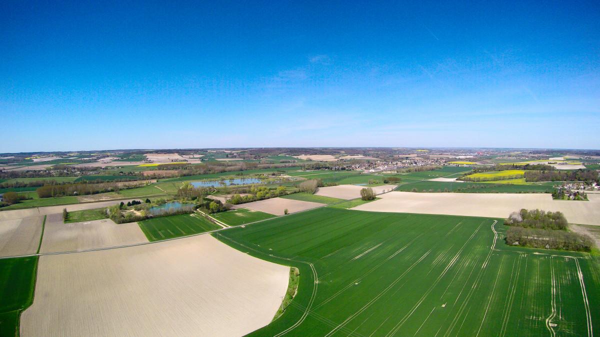 Terres agricoles d'Ingrandes sur Vienne