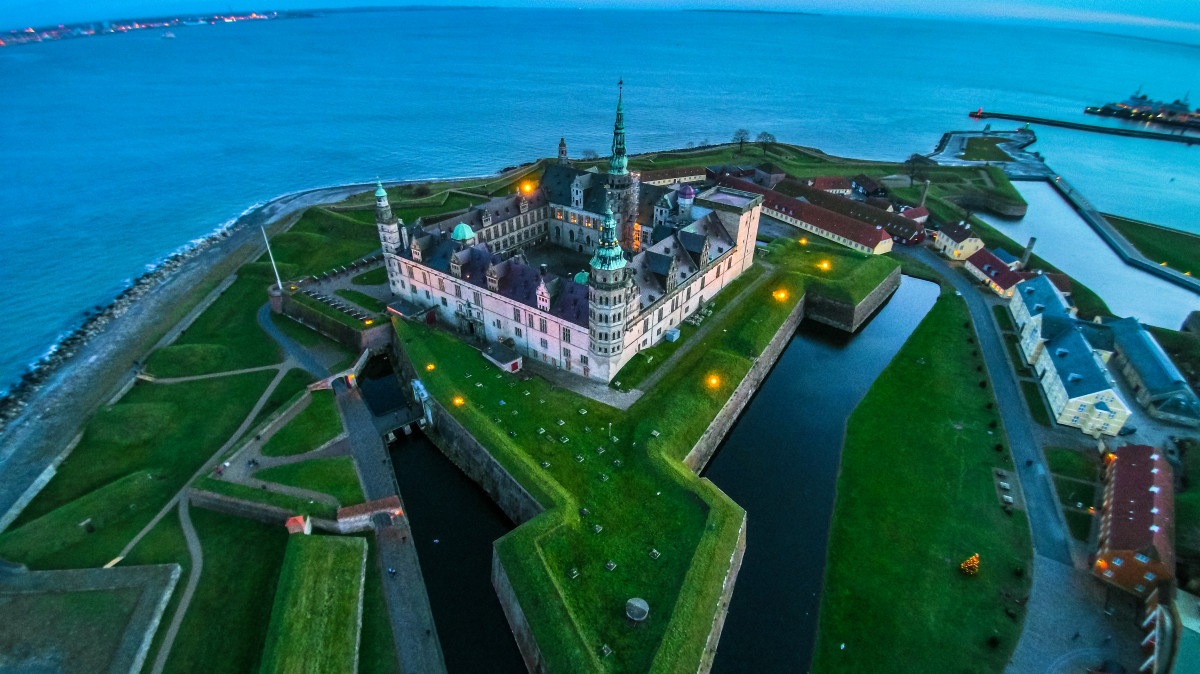 Kronborg Castle, Helsingør, Denmark