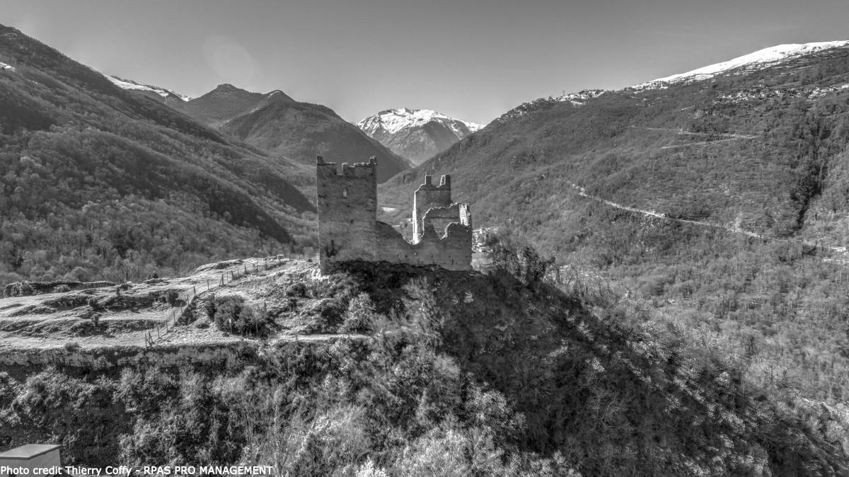 Chateau de Miglos, Ariège, France