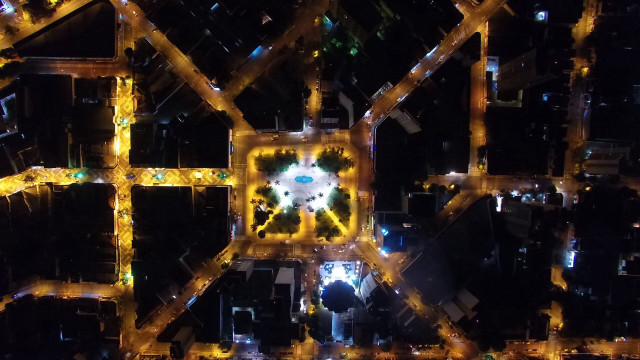 Praça Rui Barbosa,Araçatuba,São Paulo,Brasil