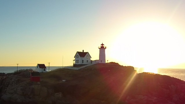 The Nubble Light, York, Maine, USA