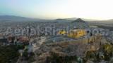 Acropolis Of Athens,Aerial-Rizikianos(Greece)