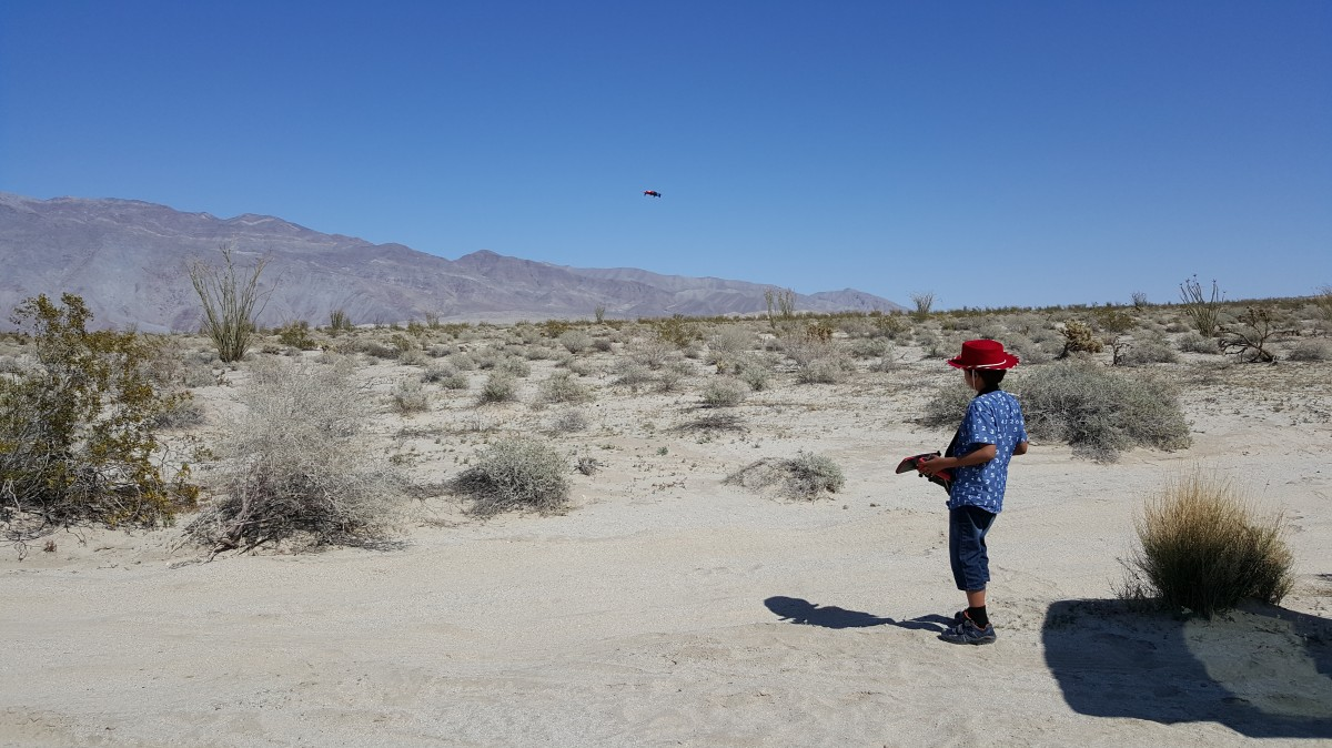 Borrego Springs desert