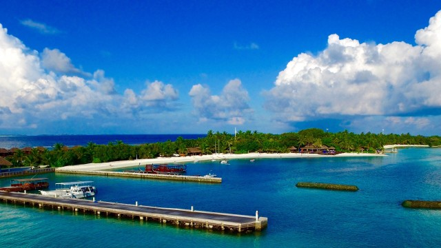Sheraton Island, Maldives.