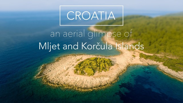 Mljet and Korcula Islands, Croatia