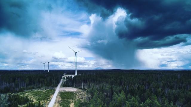 Märynummi windmills, Märynummi, Salo, Finland