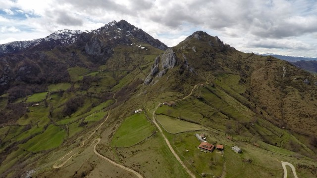 Los tornos, Laviana, Asturias, Spain