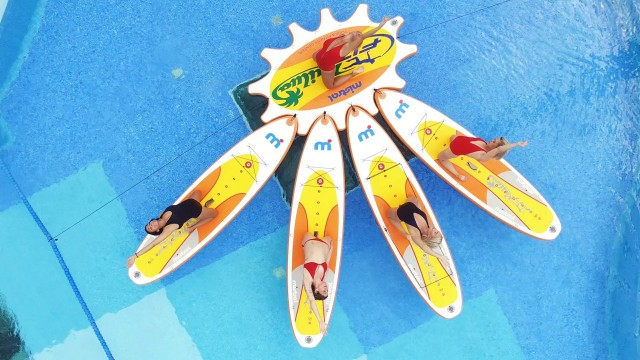 Sun Flowers Cool Pilates – Yoga SUP (Stand Up Paddle)