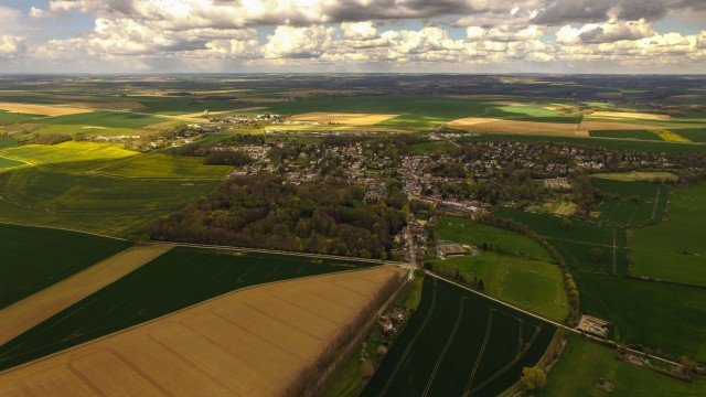 Vigny From the  sky