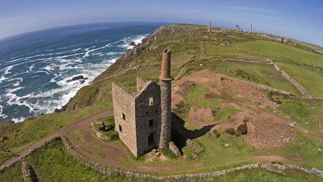 West Wheal Owles Engine House, Botallack, Cornwall