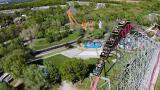 Roller coaster in Kansas City