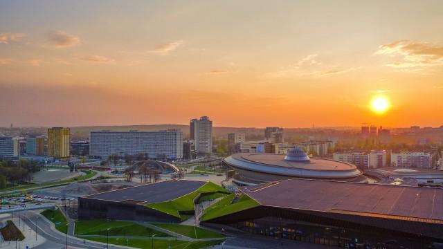 Spodek, Katowice, Poland, Europe
