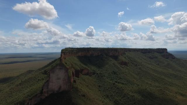 Serra da Catedral, São Félix do Tocantins, Tocantins, Brasil