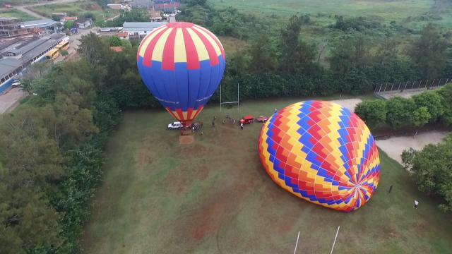 Balonismo, São Lourenço, Minas Gerais, Brasil