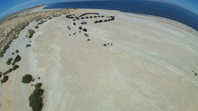 Old Navy Base on the Salton Sea