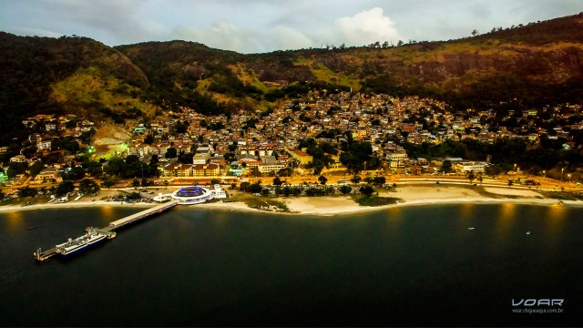 Charitas Beach, Niterói, Brazil