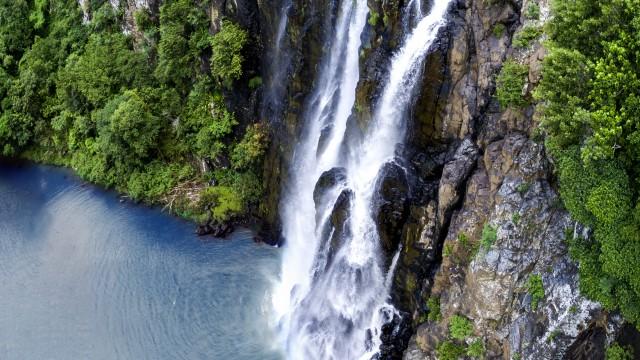 Niagara waterfall, Reuion Island, Sainte Suzanne