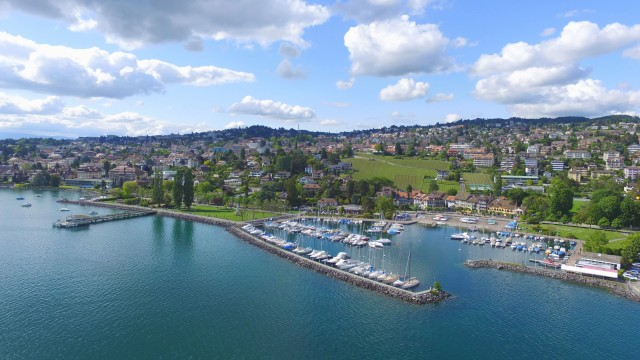 Port and City, Pully, Switzerland