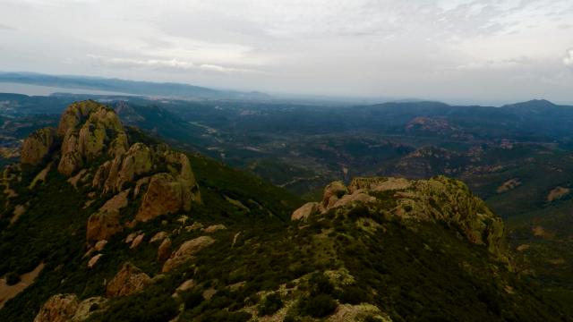Plateau d'Antheor, Agay, Var, FRANCE
