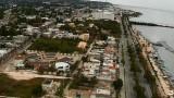 Malecón de Campeche, México