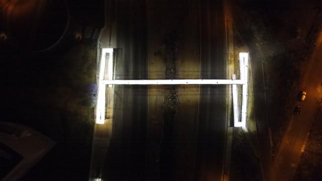 Pedestrian Bridge. Bernardo Quintana Boulevard. Querétaro, México.