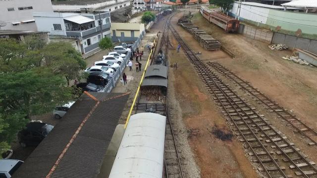 Trem das Águas, São Lourenço, Minas Gerais, Brasil