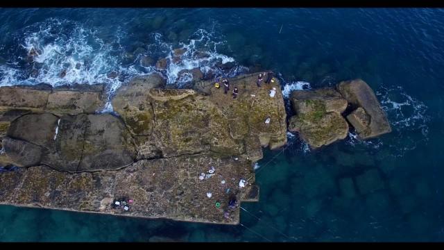 Amazing Caesarea port, israel