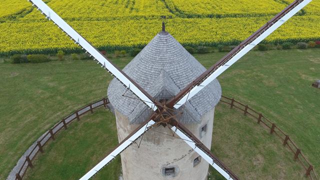Moulin Blot, Bourgogne, France