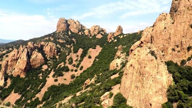 Plateau d'Antheor et Pic du Cap Roux, Agay, Var, FRANCE