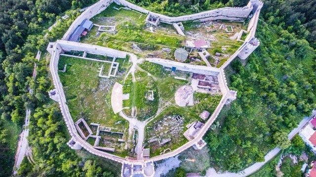 Ohrid – Samuil`s Fortress from top