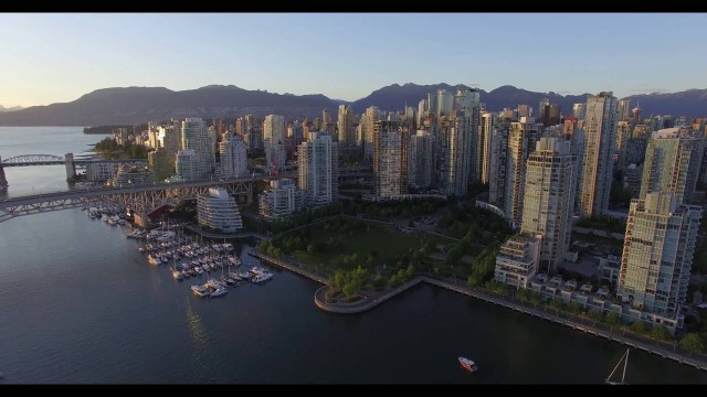 Vancouver Day and Night in 4K