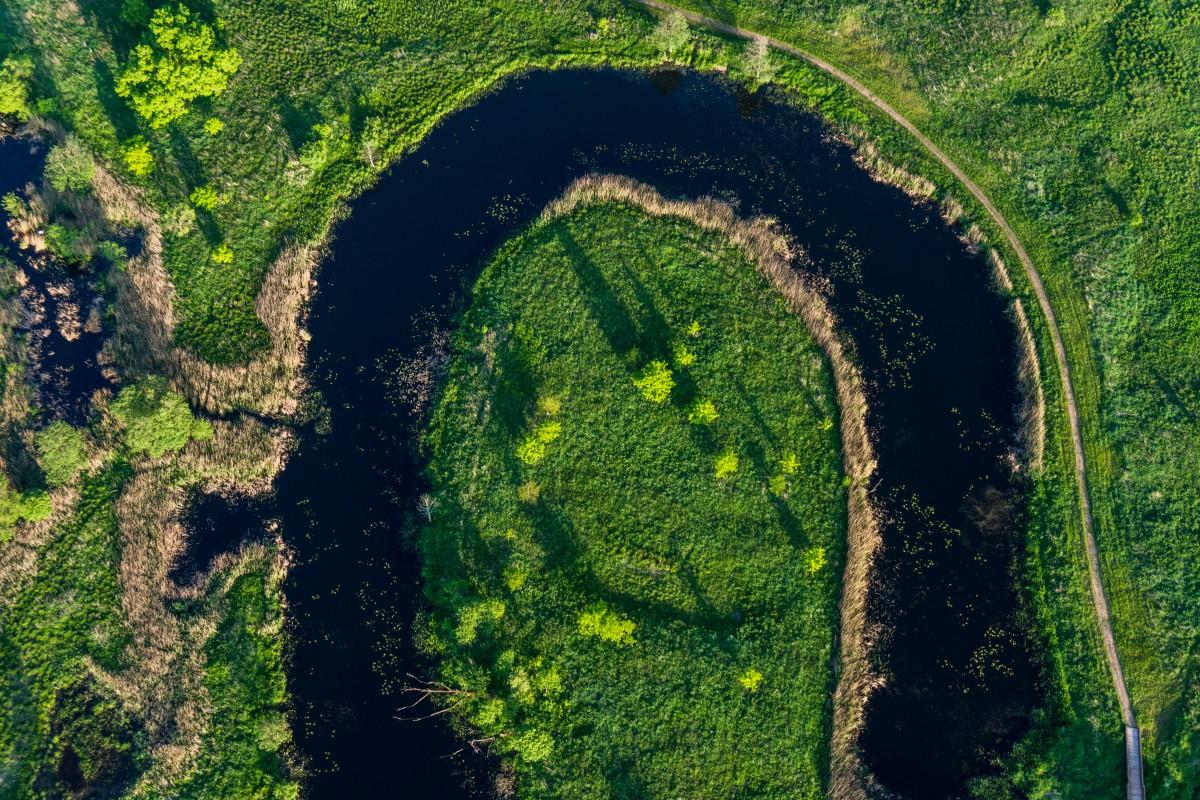 Krekenava Regional Park, Nevezis river, Lithuania