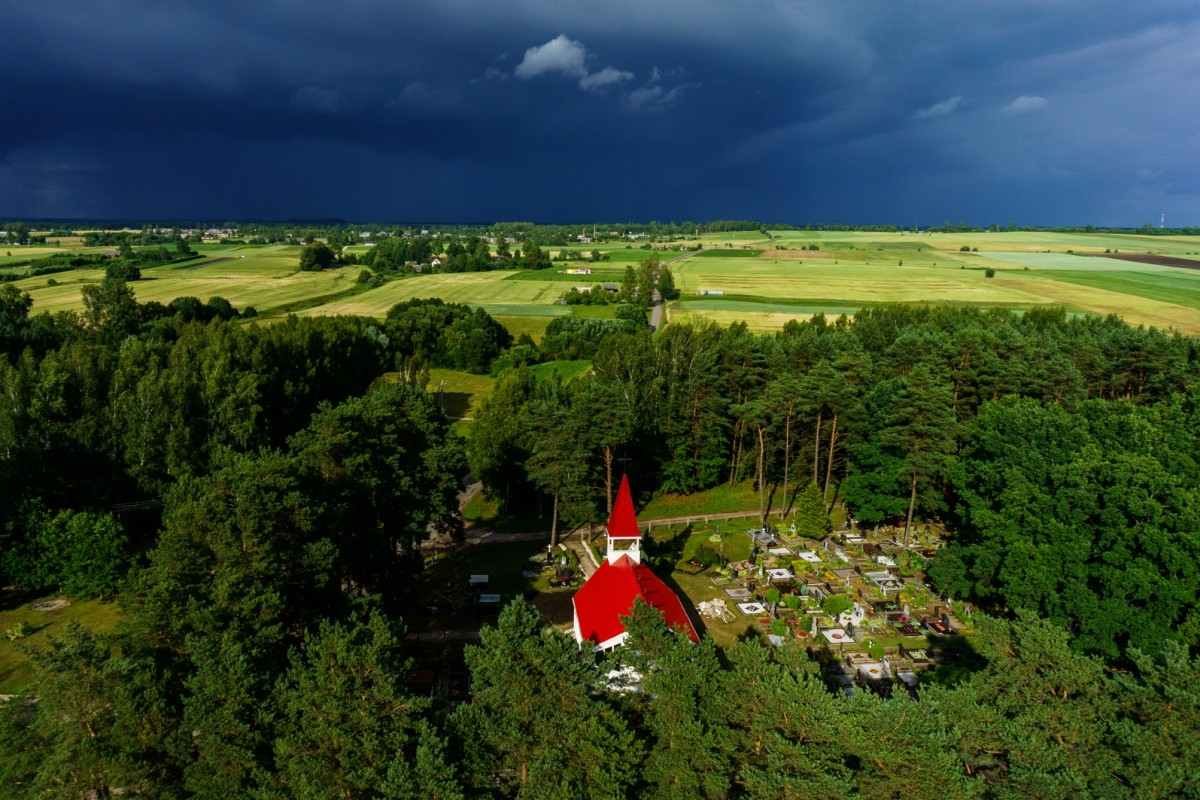 Pastuva Church, Lithuania