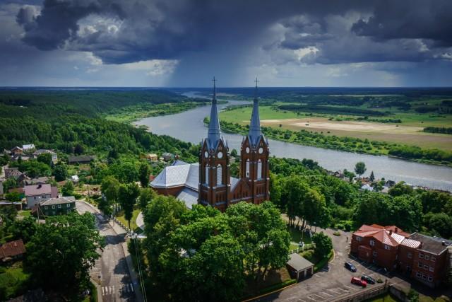 Church of blessed Jurgis, Vilkija, Lithuania