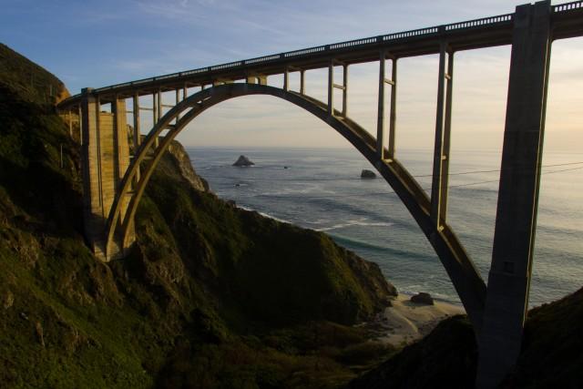 Bixby Bridge Coast Highway Big Sur