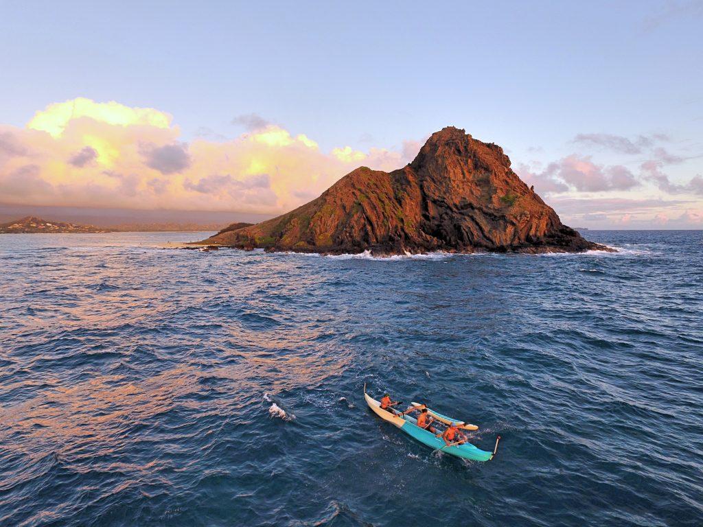 Na Mokulua Hawai: Dronestagram