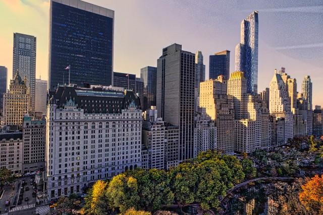 Central Park South , Manhattan , NY