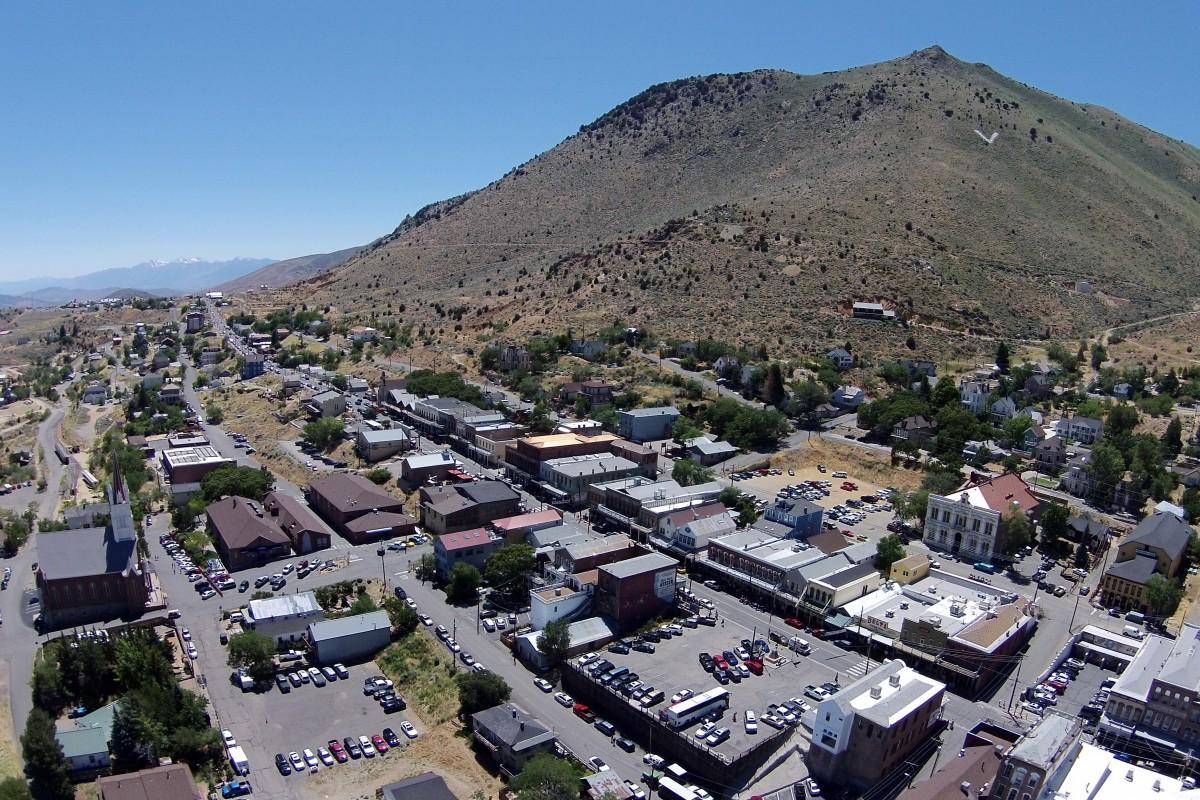 Virginia City, Nevada, USA