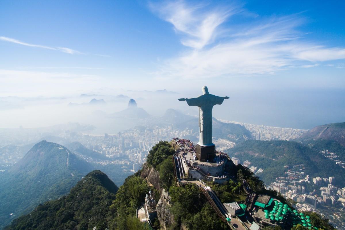 Cristo Redentor, Rio de Janeiro, BRAZIL | Dronestagram