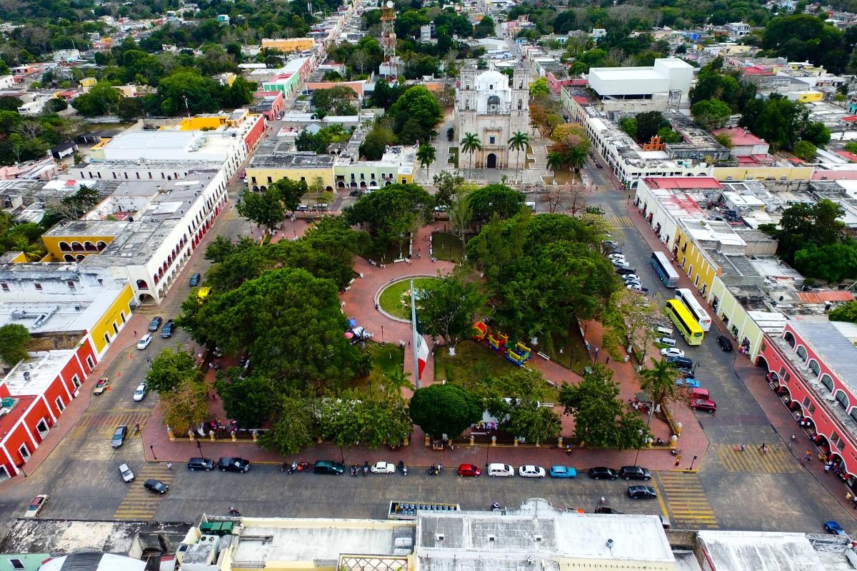 Valladolid Yucat 225 N Dronestagram