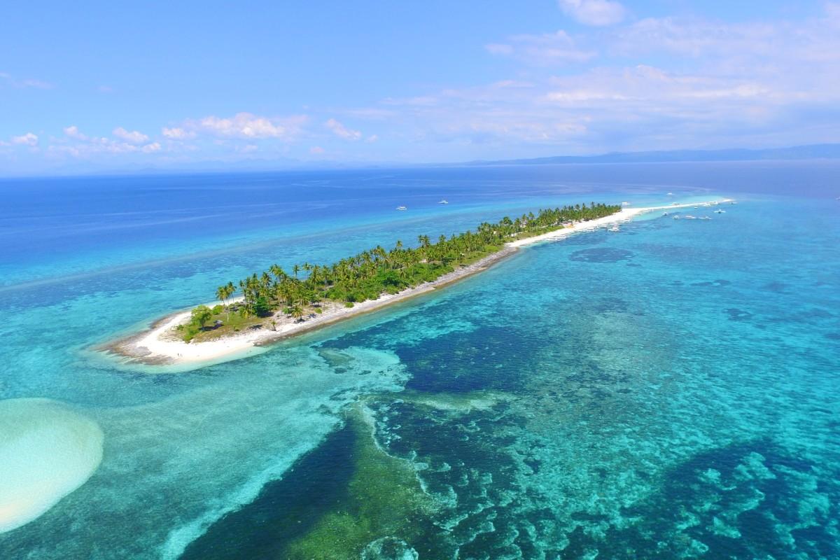 Tropical Island Beach Ambience Sound: Calangaman Island, Philippines