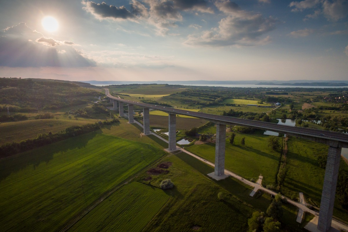 Viaduct at Kőröshegy