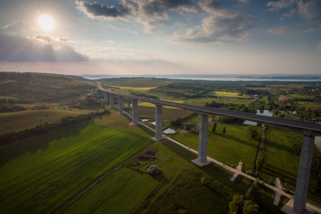 Viaduct at Kőröshegy