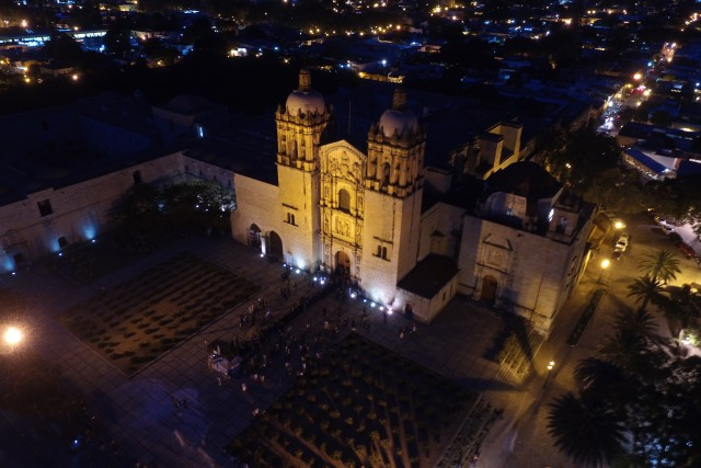 Templo de Santo Domingo en Oaxaca, México