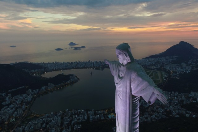 Corcovado, Christ the Redeemer, Rio de Janeiro, RJ, Brazil