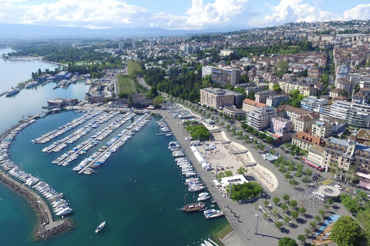 Ouchy, Lausanne, Switzerland
